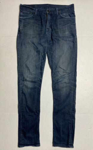 Levis 510 Mens Size 34 X 33 (Tag 32 X 32) Skinny S