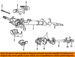 1989 dodge ramcharger steering column