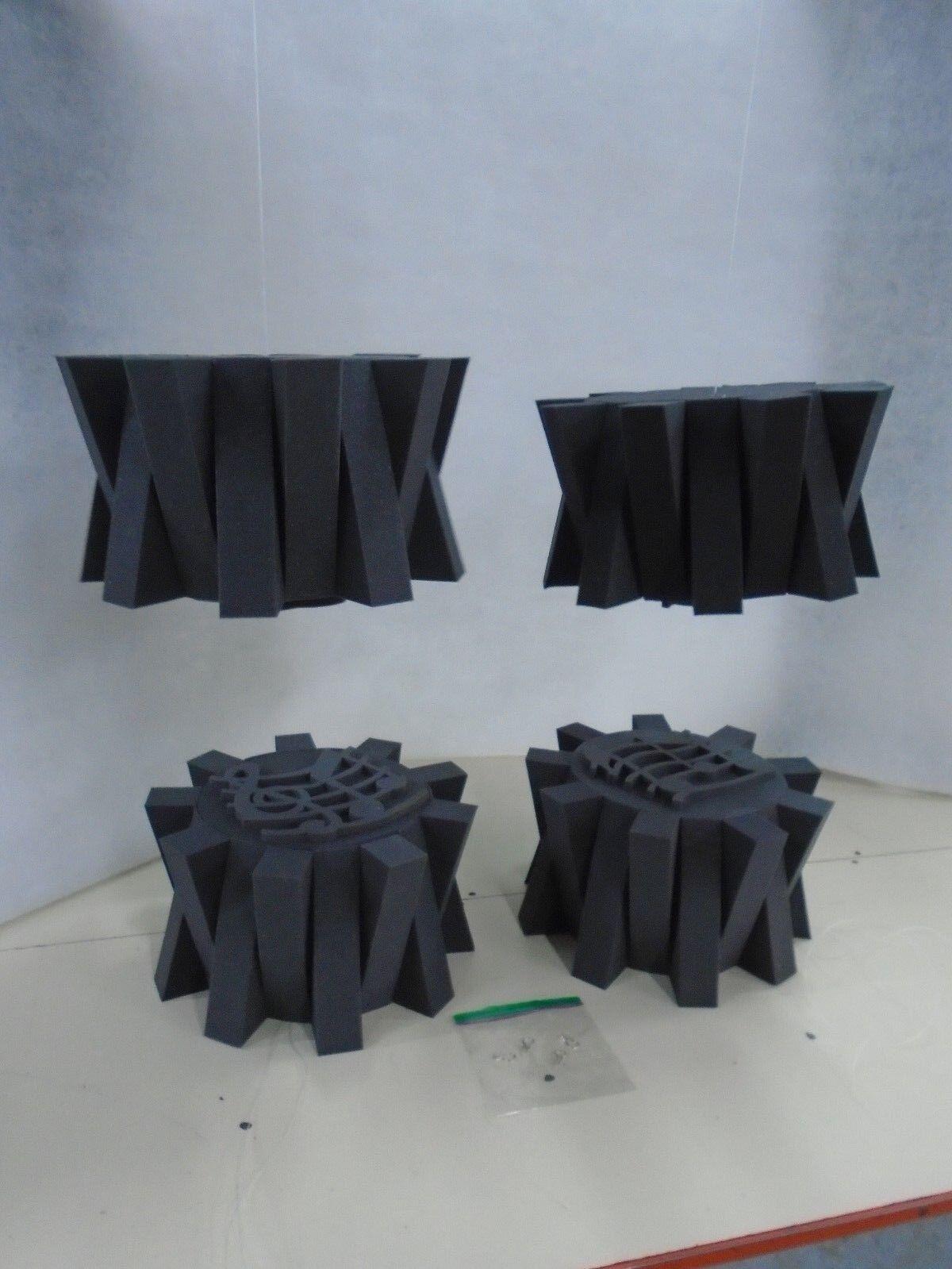 Acoustic Soundproofing Stylish Ceiling Mount Foam Tiles
