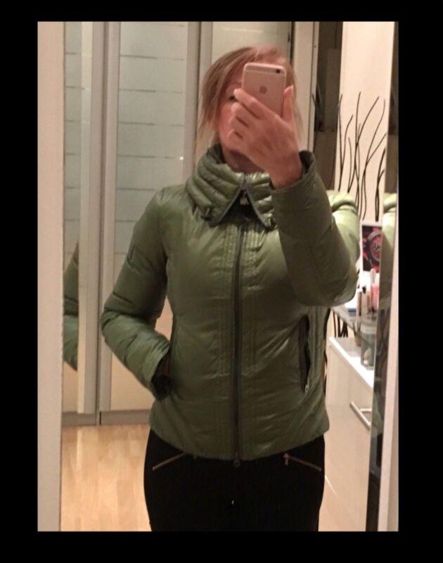 ???? Armani Daunen Jacke Gr.34/36 Steppjacke Sportlich Damen Jacke Sehr Schön ???? KöStlich Im Geschmack