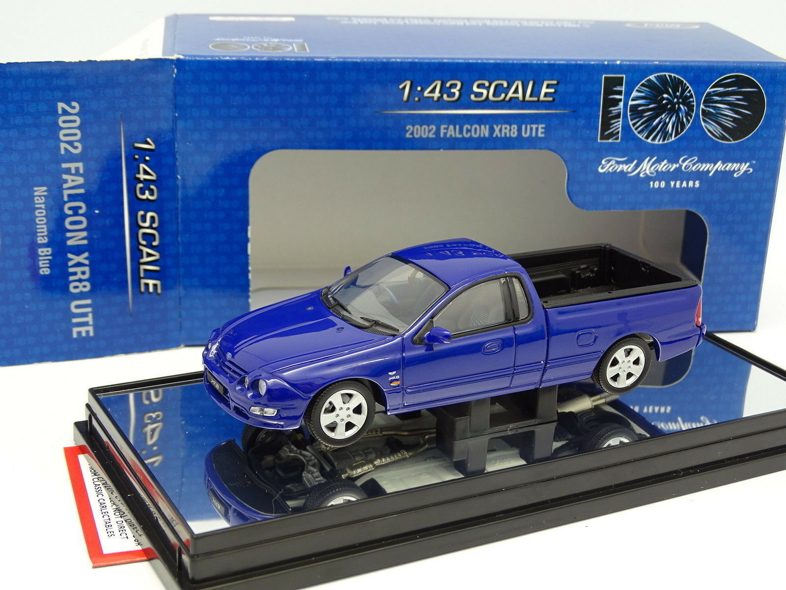 Classic Coleccionables 1 43 - Ford FPV Falcon XR8 2002 UTE Pick Up blu