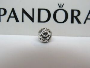 5c958d3b938f7 Details about New w/BOX Pandora Friendship ESSENCE Sterling Silver Charm  796057 RETIRED