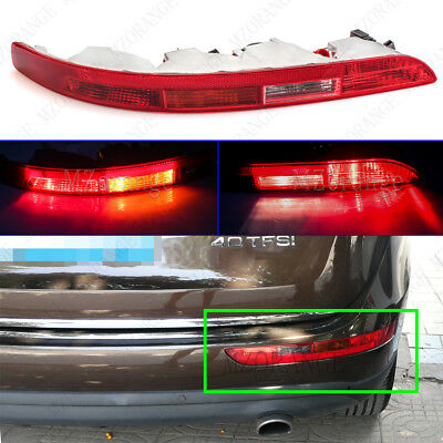For Audi Q5 8R Rear Bumper Light Tail Indicator Fog Lamp Right Side RH 2009-2015