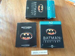 Lote-4-Blu-Ray-Bluray-Estuche-Batman-Antologia-Des-Cine-1989-1997-Defi-Forever