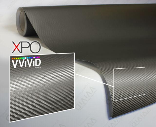 Gunmetal Grey Gloss XPO car vehicle vinyl wrap film 5ft x 5ft VViViD cast decal
