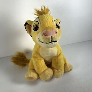 "Disney Just Play Simba Plush Toy The Lion King Small Stuffed Animal 7"""