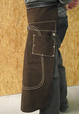 Lederschürze für den Hufbeschlag,Schmiedeschürze TOP Beschlagschürze aus Leder