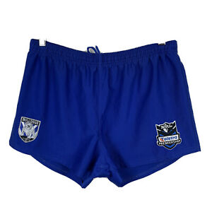Canterbury-Bulldogs-NRL-Mens-Shorts-Size-Medium-Good-Condition-Elastic-Waist