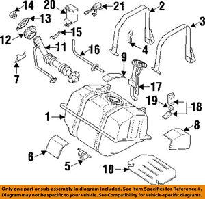 infiniti nissan oem 97 01 q45 fuel pump 170426p100 ebay rh ebay com