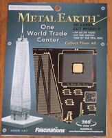Metal Works 3D Laser Cut Miniature Model One World Trade Center Toys