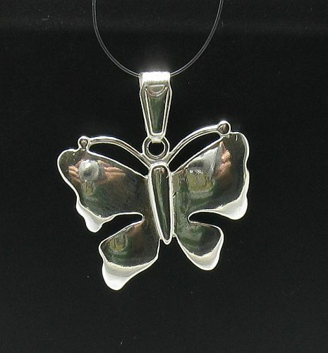 STERLING SILVER PENDANT BUTTERFLY 925 NEW CHARM