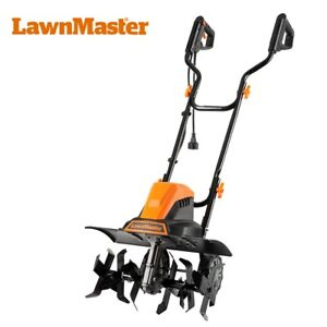 LawnMaster TE1318W Corded Electric Tiller 13.5-Amp 18-Inch Garden Tools