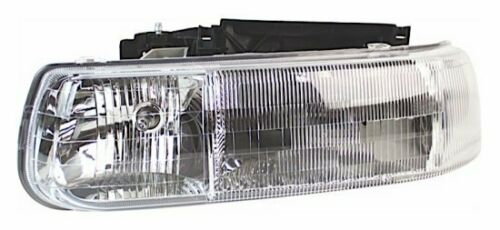 Headlight Headlamp Chevrolet Silverado 1999-2002 Suburban 2000-2006 Driver Side