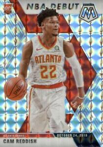 2019-20 Panini Mosaic NBA Debut Silver Prizm Cam Reddish #271 Rookie Hawks