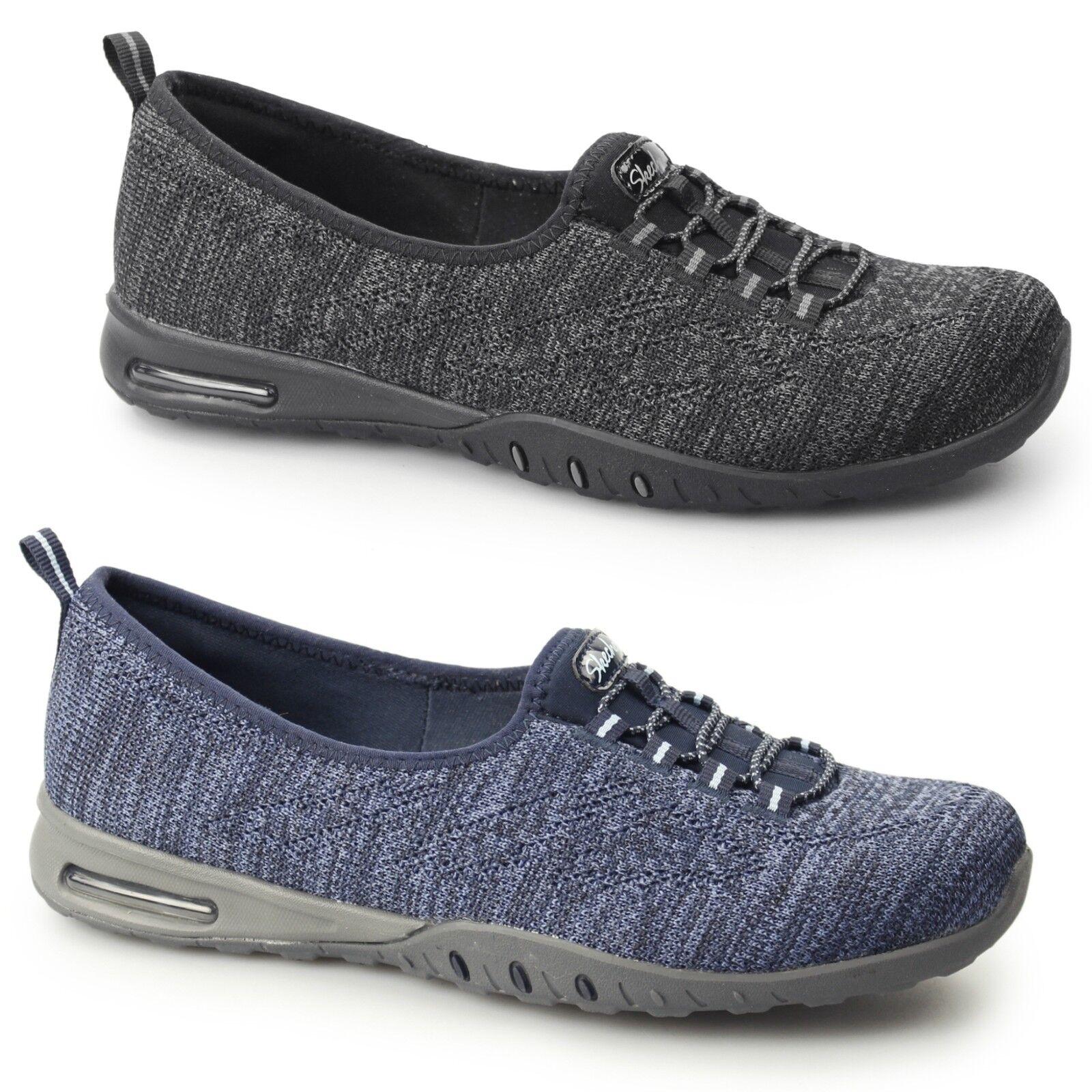 Skechers relaxed fit  facile à l'air dans mes rêves de femmes à enfiler mousse à mémoire de chaussures
