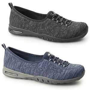 ac86a0108a1e Skechers RELAXED FIT  EASY AIR-IN MY DREAMS Ladies Slip On Memory ...