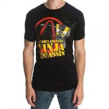 BORDERLANDS Men/'s CL4P-TP Interplanetary Ninja Assassin T-Shirt Large Dark ...