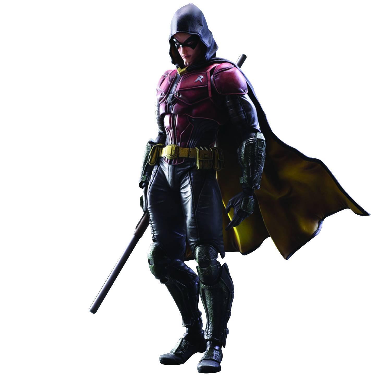 Batman arkham ritter spielen kunst kai robin action - figur (square enix 2015)
