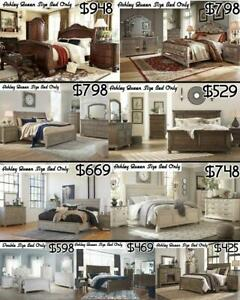 IMPORTED AND ASHLEY MODERN BED ONLY SALE!!! City of Toronto Toronto (GTA) Preview