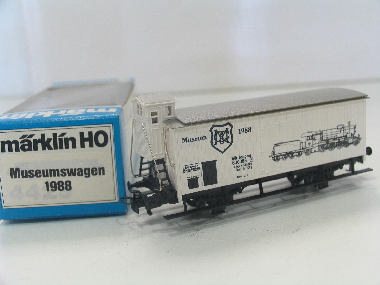 MÄRKLIN HO MUSEUMSWAGEN 1988  PA949