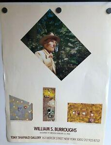 WILLIAM-BURROUGHS-ART-EXHIBIT-POSTER-TONY-SHAFRAZI-GALLERY-NYC-DEC-JAN-1988