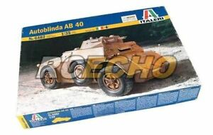 ITALERI-Military-Model-1-35-Autoblinda-AB-40-Scale-Hobby-6482-T6482