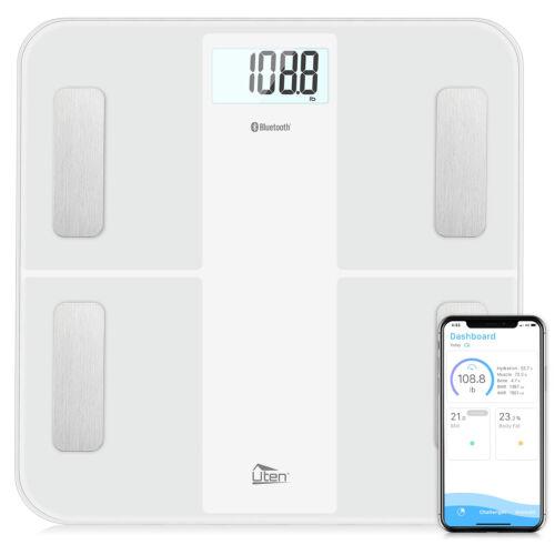 8in1 Bilancia pesapersone Corpo analisi bilancia 180kg Bilancia Bagno Bilancia Bluetooth USB