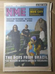 New Music Express NME Magazine 24 September 1988 (FB002) Billy Bragg Stetsasonic