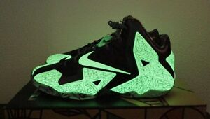 new product cb035 351a3 Image is loading Nike-LeBron-XI-11-ASG-All-Star-Glow-