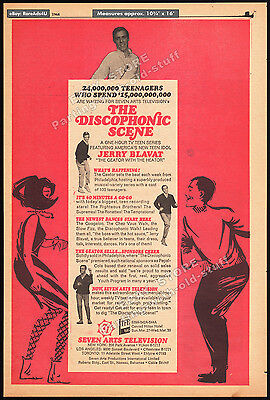 THE DISCOPHONIC SCENE__JERRY BLAVAT__Original 1966 Trade AD / TV promo /  poster | eBay