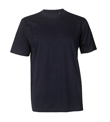 Arbeits T-shirt Basic Navyblau Kleidung Business & Industrie