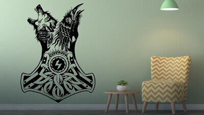 Wall Vinyl Sticker Decal  viking sea king custom viny decal for kids ge712