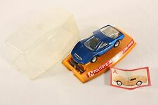 Politoys M 12, Abarth 2000 Pininfarina, silver engine, Mint in Box     #ab815