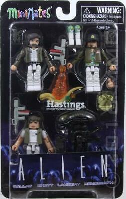 Aliens Minimates Series 1 Warrior Alien Complete Mint Loose