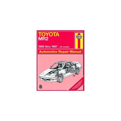 Genuine Haynes Owners Workshop Service Manual Toyota MR-2 85-87 92065