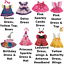 16-inch-40cm-TEDDY-CLOTHES-PINK-DRESS-PRINCESS-DENIM-TUTU-BIRTHDAY-BUTTERFLY thumbnail 2