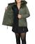 Parka-Donna-Invernale-Giubbotto-cappuccio-pelliccia-Cappotto-Imbottito-Lungo miniatura 22