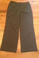 Chico's Gray Pin Stripe Dress Pants Womens Size 2 Reg