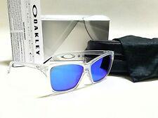 Authentic OAKLEY Hold On OO9298-09 Matte Clear/Sapphire Iridium Sunglasses
