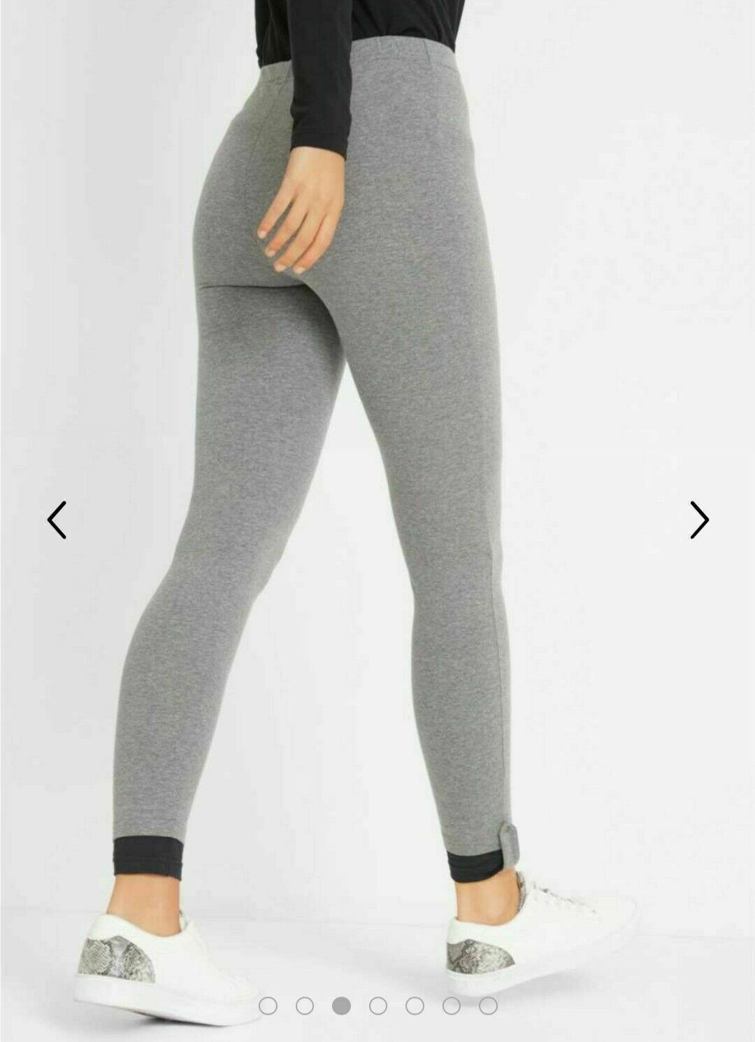 Sport Stretch Legging Grey Marl Size 40 (NEW!!!)