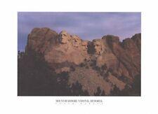 TRAVEL POSTER ~ MOUNT RUSHMORE NATIONAL MEMORIAL 17x23 South Dakota USA