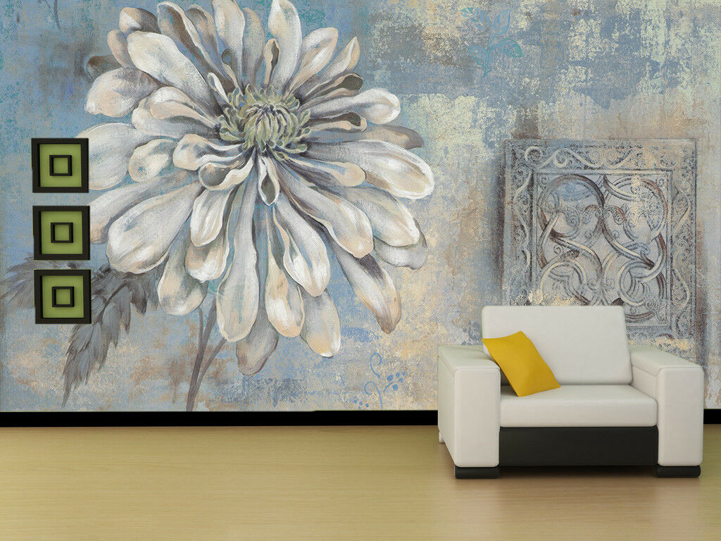 3D Simple Flower 784 Wall Paper Murals Wall Print Wall Wallpaper Mural AU Lemon