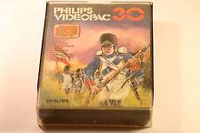 VINTAGE PHILIPS G7000 computer console videopac 30 Campo di Battaglia Gioco 1981
