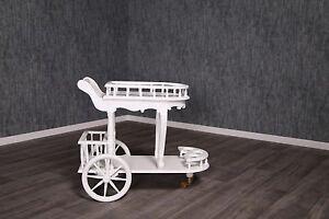 barock teewagen serviertisch dessertwagen beistellwagen. Black Bedroom Furniture Sets. Home Design Ideas