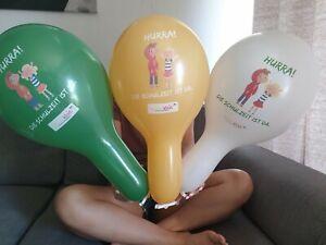 5er Paket Werbeluftballons Looner Kombiniere Dein Paket ! ! Miss Snapback