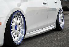 RLD Seitenschweller Schweller Sideskirts ABS für Audi A4 B8