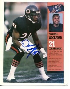 Donnell Woolford Signed Photo 8x10 Autographed Bears 36939
