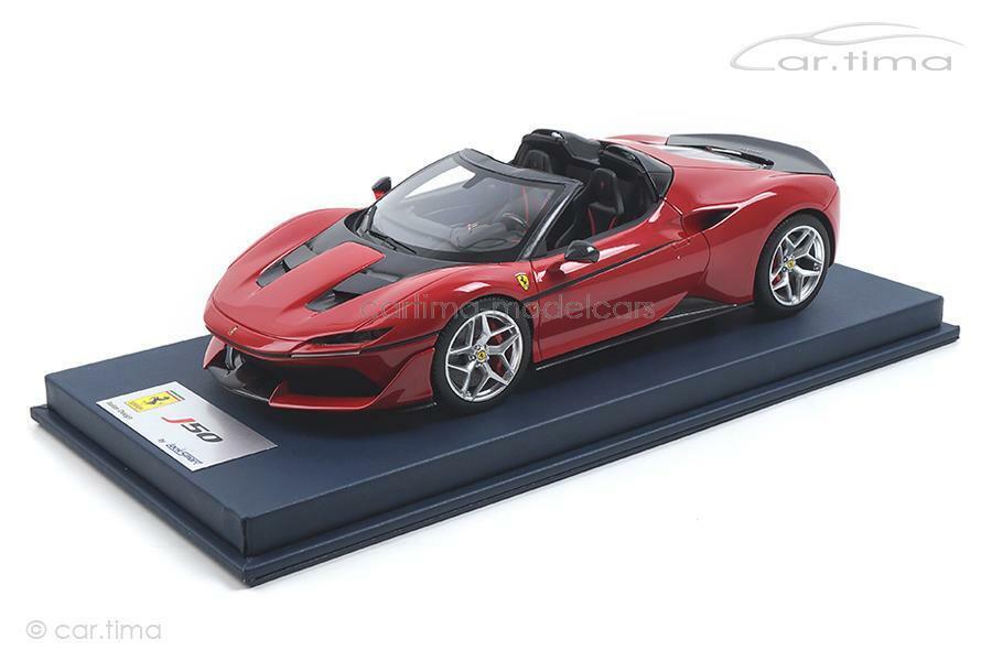 Ferrari J50 - inkl. Vitrine - LookSmart - 1 18   LS18_016A