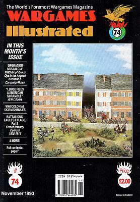 Analitico Wargames Illustrata Nº 74 Novembre 1993-mostra Il Titolo Originale