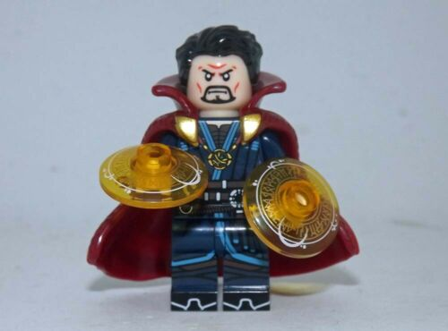 Doctor Strange minifigure movie TV show Marvel Comic toy figure!